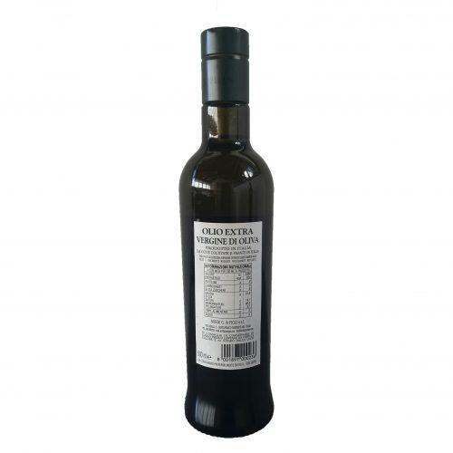Bottiglia LT 0,500 Piandisco - Retro