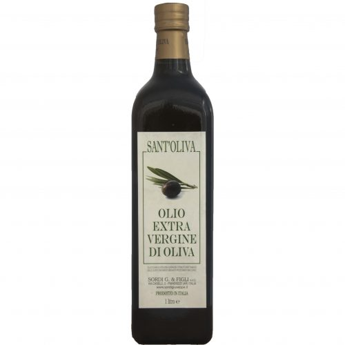 Single 1 liter bottle - Sant'Oliva Extra virgin olive oil