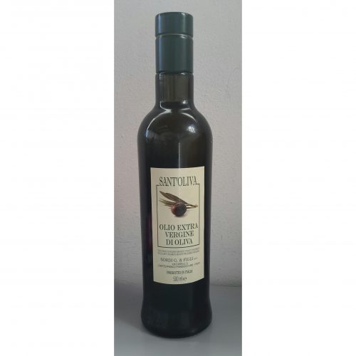 Bottle 0,500 liter SantOliva Extra Virgin Olive Oil