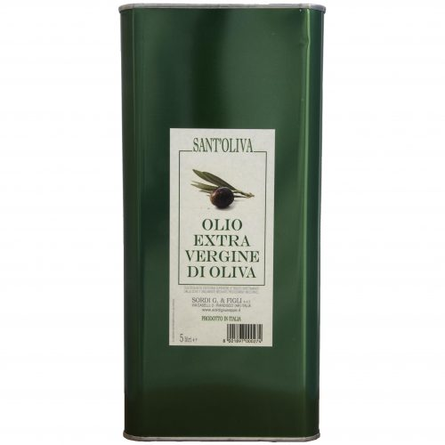Single 5 liter can - Sant'Oliva Extra virgin olive oil