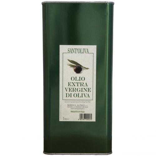 Lattina singola LT 5 - Sant'Oliva Olio extra vergine di oliva