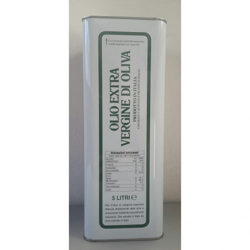 Laterale Lattina LT 5 Piandiscò Olio Extra Vergine